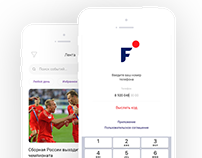 Fan Life - mobile application for the soccer world cup