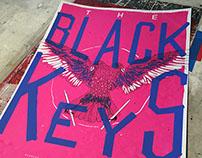 THE BLACK KEYS - GIG POSTER