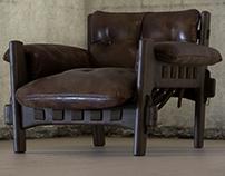 Sergio Rodrigues Mischievous Chair