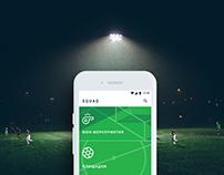 SQUAD football app