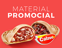 Material Promocional - Calzoon Mini Calzone