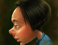 Character study - Age of puberty