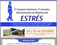 3er Congreso Nacional de Medicina del Estrés