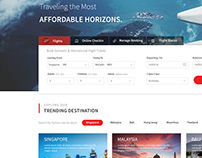 Air Asia Airlines Website Redesign.