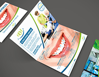 Flyer promocional-Clínica dental CED