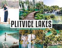 Free Plitvice Lakes Mobile & Desktop Lightroom Presets