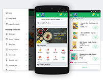 Askme Grocery Mobile Experience
