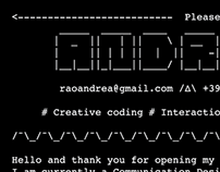 andreaefferao_readme.txt - 2015 ASCII resume