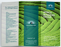 Africa Business Group Agribusiness Brochure