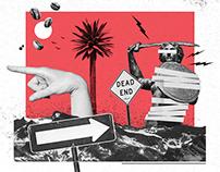 Miesięcznik ZNAK | editorial illustrations