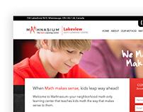 Mathnasium Landing Page