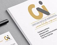 Branding for Cristian Nicolae Inspiration