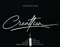 Creattion - Free Signature Script Font