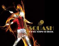 Livro de registro histórico do Squash no Brasil