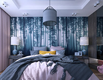 FOREST BEDROOM | Interiors