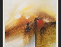 Acrylic on canvas abstractart