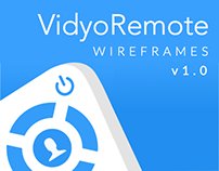 VidyoRemote: Wireframes for iOS v.1.0