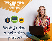 Cards para redes sociais - Mais Bolsas / Educa +Brasil