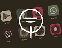 """""""Wild forest"""" icon pack for Android"""
