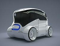 Mobuno 2.0 - Shared Autonomous Robotaxi Concept