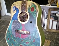Musical Youth Guitar Painting Project