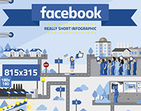 Facebook Short Infographic · Infographic & Illustration