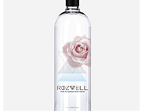 Rose Water Label for Rozwell