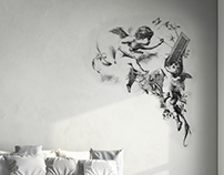 Work (Wall Stickers Decorations)