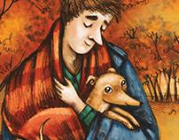 Italian Greyhound And The Poet