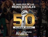 SUPER BOWL 50: Infografía de las redes sociales