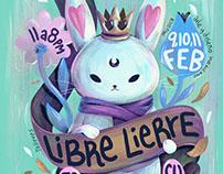Libre Liebre Poster Art