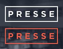 La Presse d'Youville visual branding