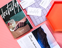 Electrify Mag / Business Card & Media Kit