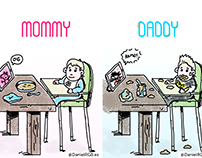 Mommy VS Daddy