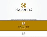Haloftis Custom Homes (Modern Luxury Logo)