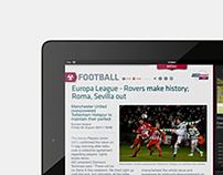 Eurosport iPad Application Proposal