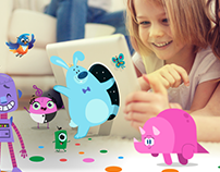 Personal kids - Web App. Kidloom