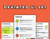 Deviated UI Set