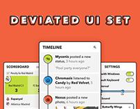Deviated UI Set