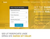 LTLoans website design
