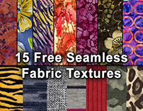 FREE Hi Res Seamless Fabric Textures Patterns Pack