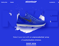 Shoes Ecommerce Homepage