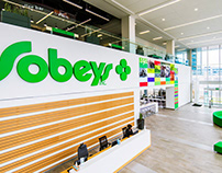 Wayfinding / Placemaking for SOBEYS INC.