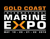 Gold Coast International Marine Expo 2016 Branding