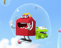 MC DONALD'S - HAPPY MEAL | Cut The Rope