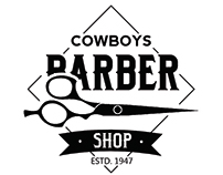Freebie: Vintage Barber Shop Logo Templates (PSD)