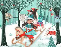 Christmas Illustrations   Cartita Design ©2016