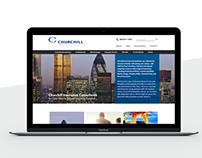 Responsive website - Wordpress template