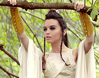 Editorial - Tribal bride