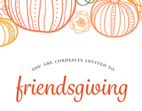 Friendsgiving Invitation